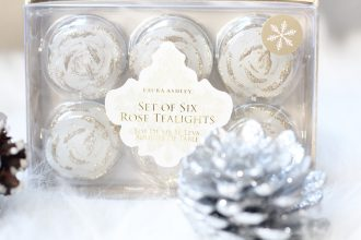 Sparkles & Stretchmarks Rose Tealights