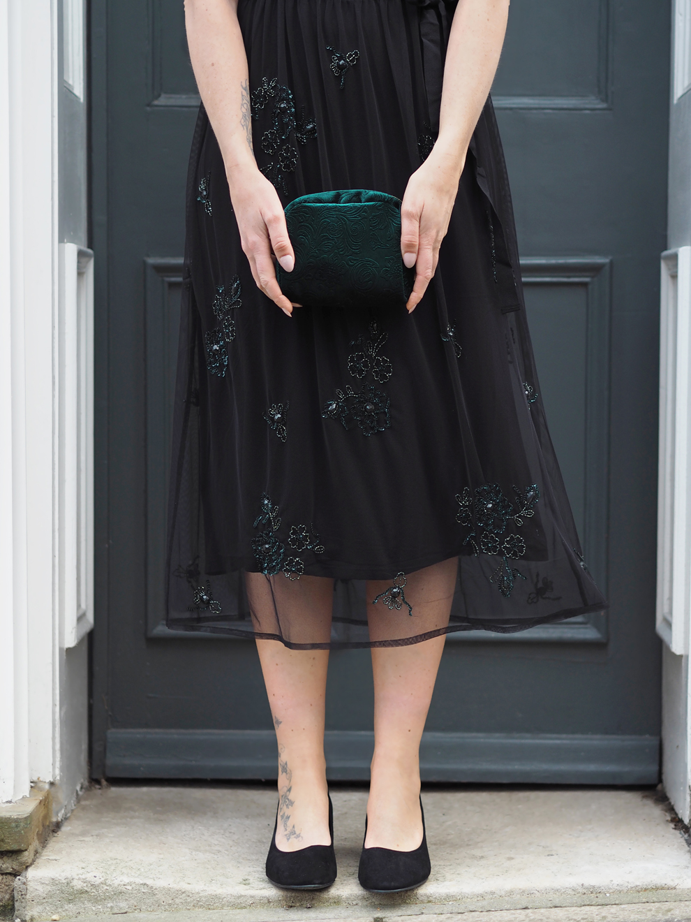 Bang On Style Emerald Dress