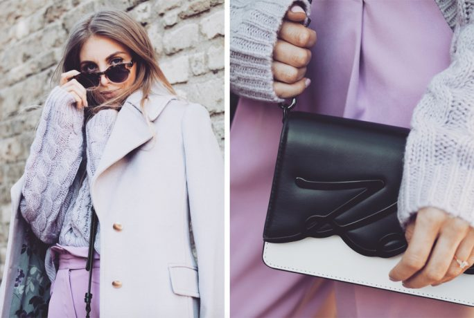 Love Style Mindfulness Lilac Coat