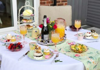 Let's Talk Mommy Garden Afternoon Tea Baby Shower Home Accessories