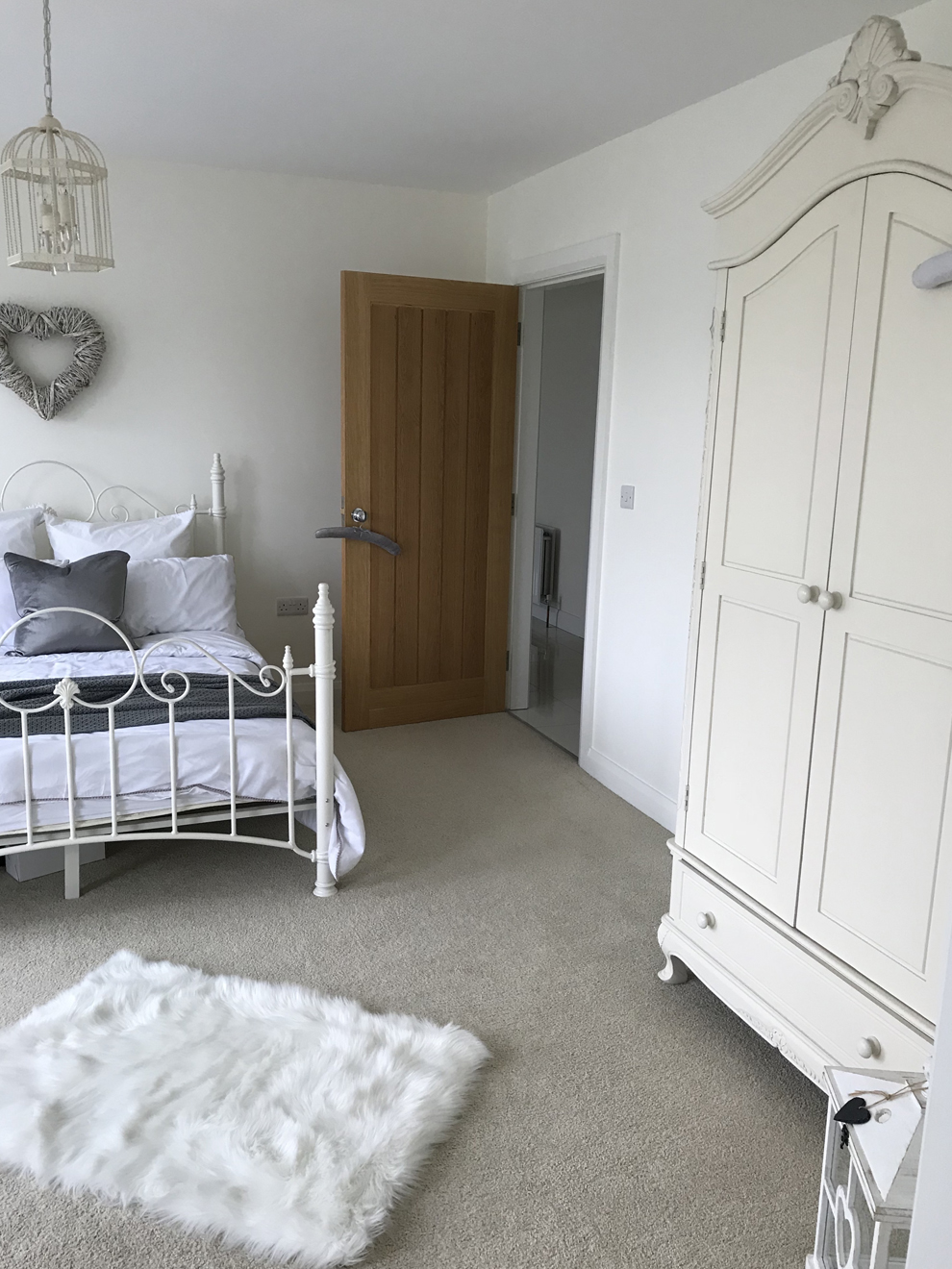 French Grey Lifestyle Guest Bedroom Home Accessories