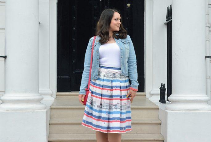 Vintage Frills Margate Skirt Handbag