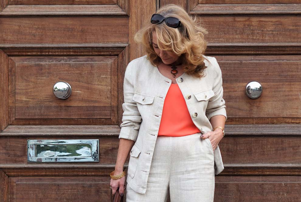 Linen Suit: Neutrals To Mix With Anything Fashion Accessories