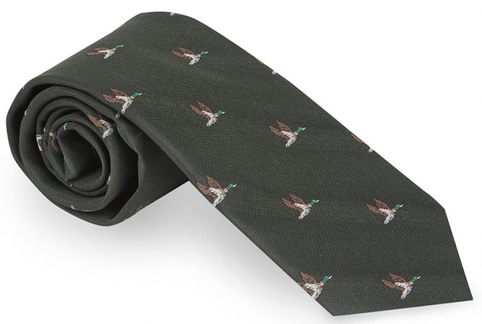 Mens Accessories Gift Ideas Flying Duck Tie Fashion
