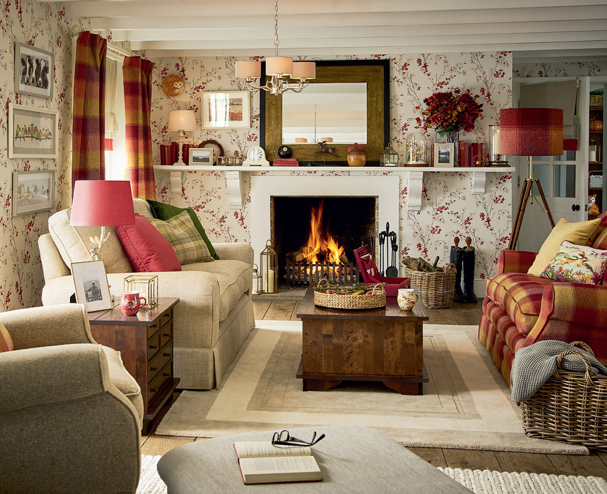 Autumn Interiors - In the Country Living Room