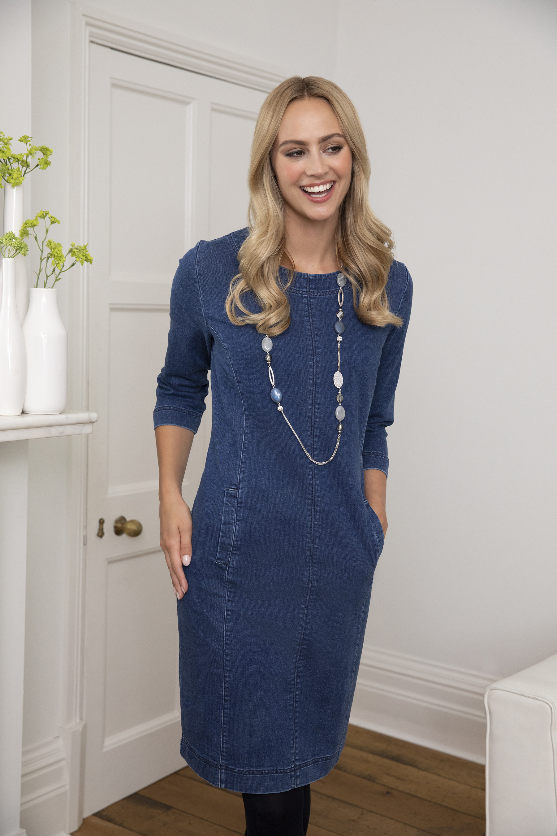 Autumn Walks Collection - The Denim Dress
