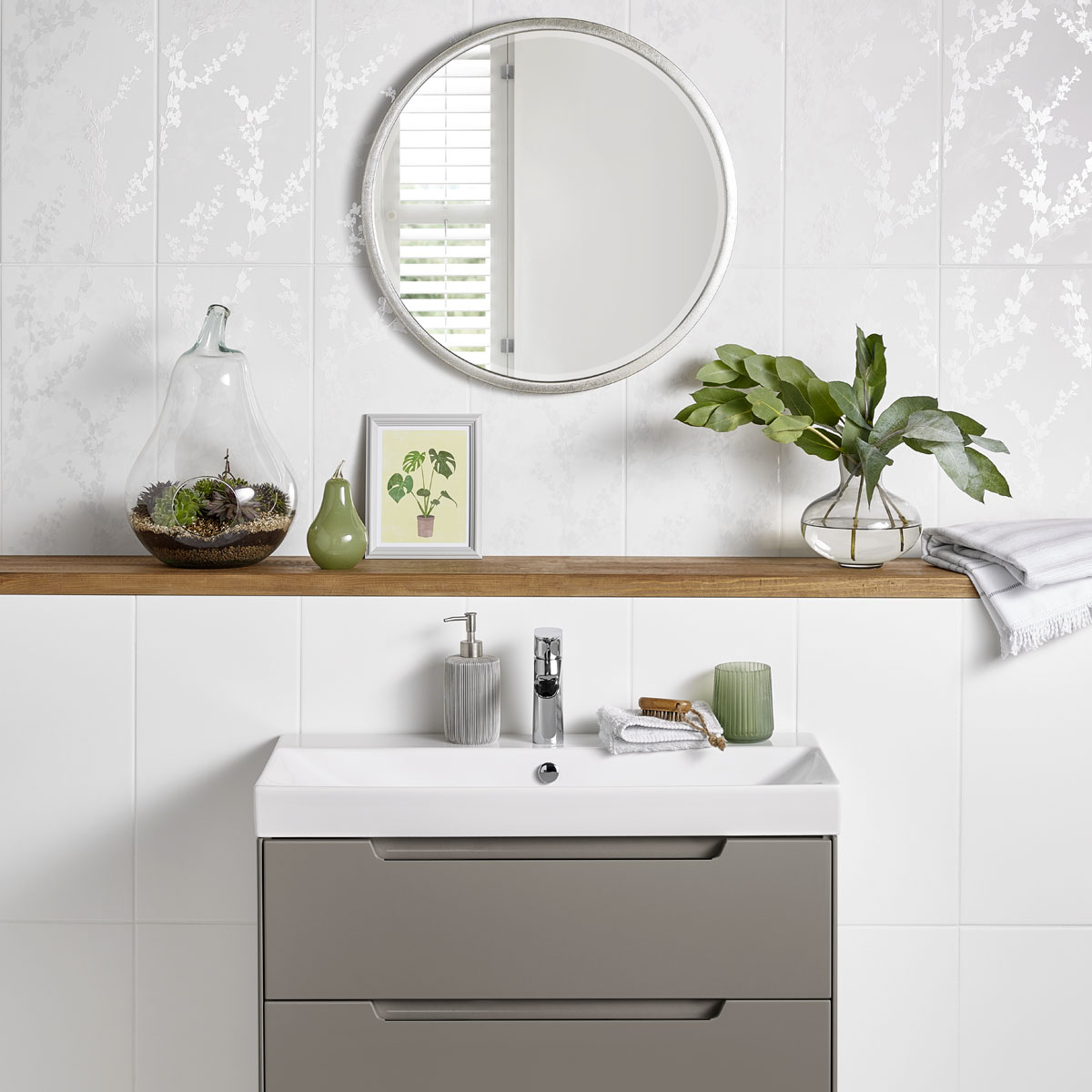 Introducing the new additions to our tile collection for Wallpaper trends for bathrooms