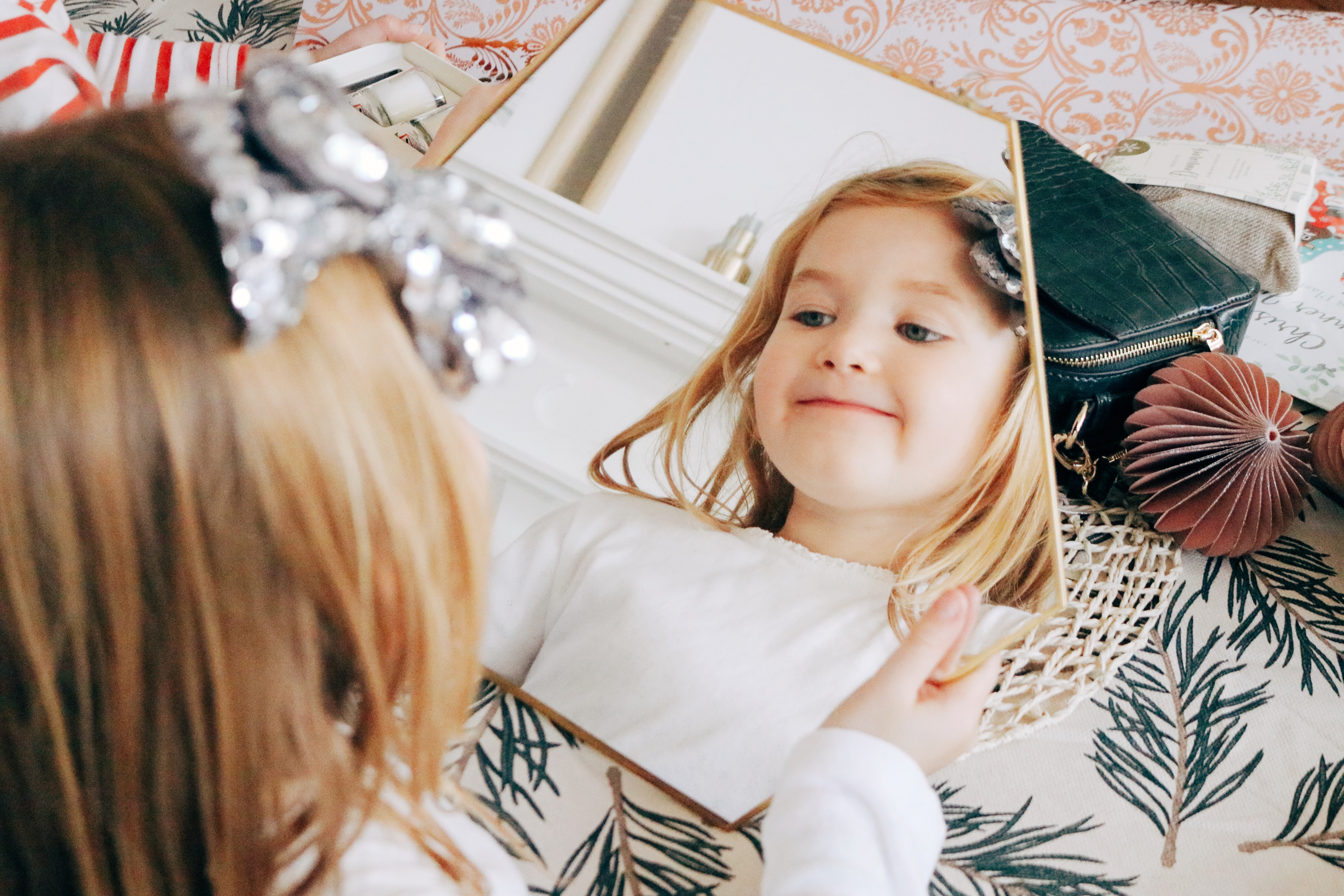 Hanging Hexagonal Mirror Ultimate Christmas 2018 Gift Guide For Her