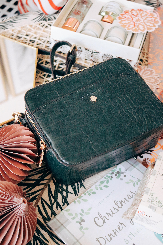 Dark Green Cross Body Crocodile Bag Utlimate Gift Guide For Her 2018 Christmas