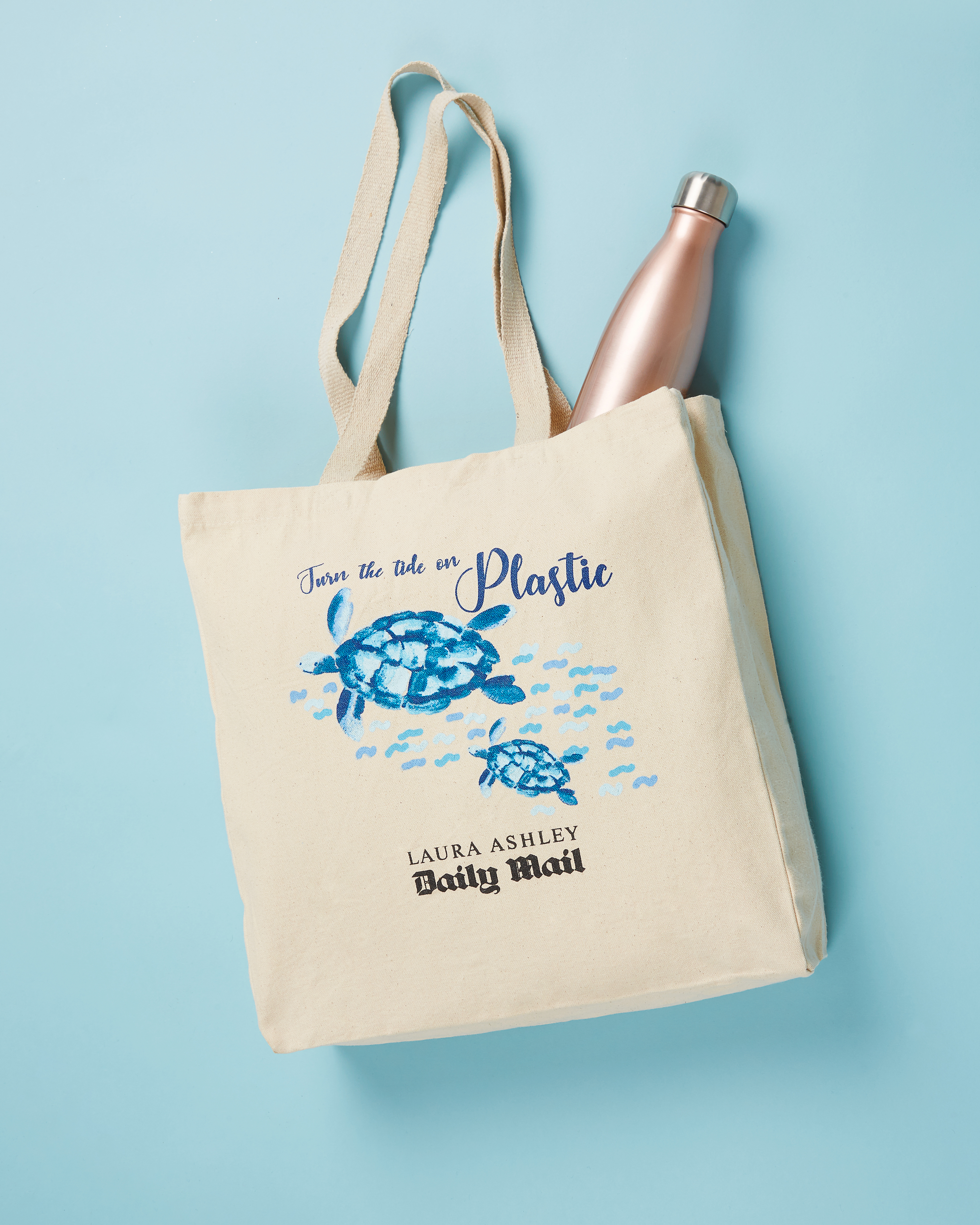 Laura Ashley Daily Mail Turn The Tide on Plastic Free Tote Bag