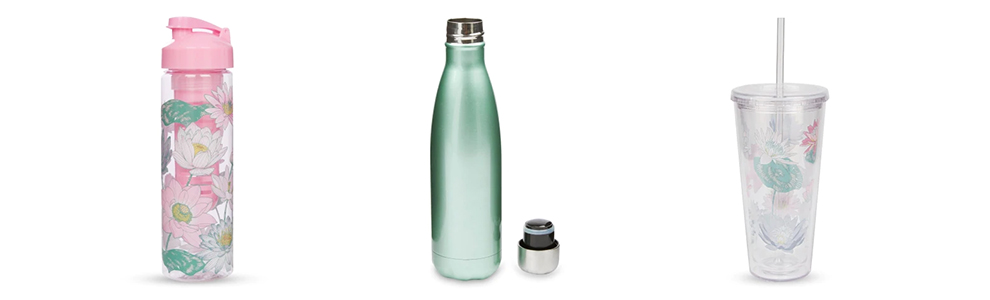 Laura Ashley Water Bottles Reduce Your Plastic Consumption