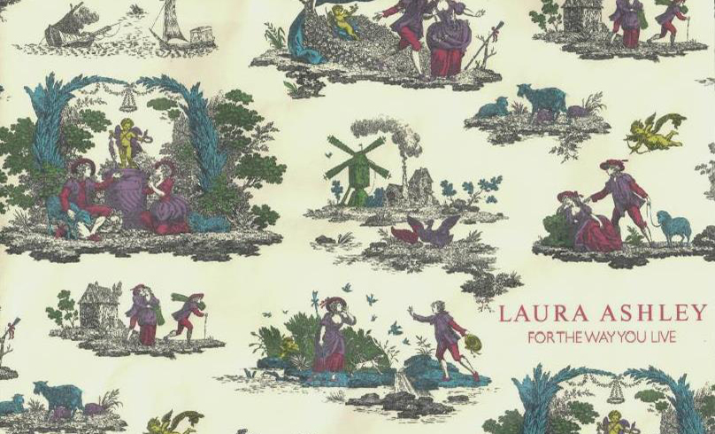 In the Archives: A Touch of Toile