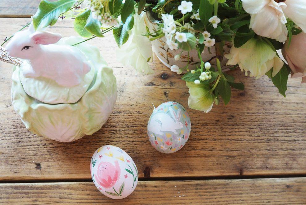 Make & Do: Painting Easter Eggs | Laura Ashley Blog