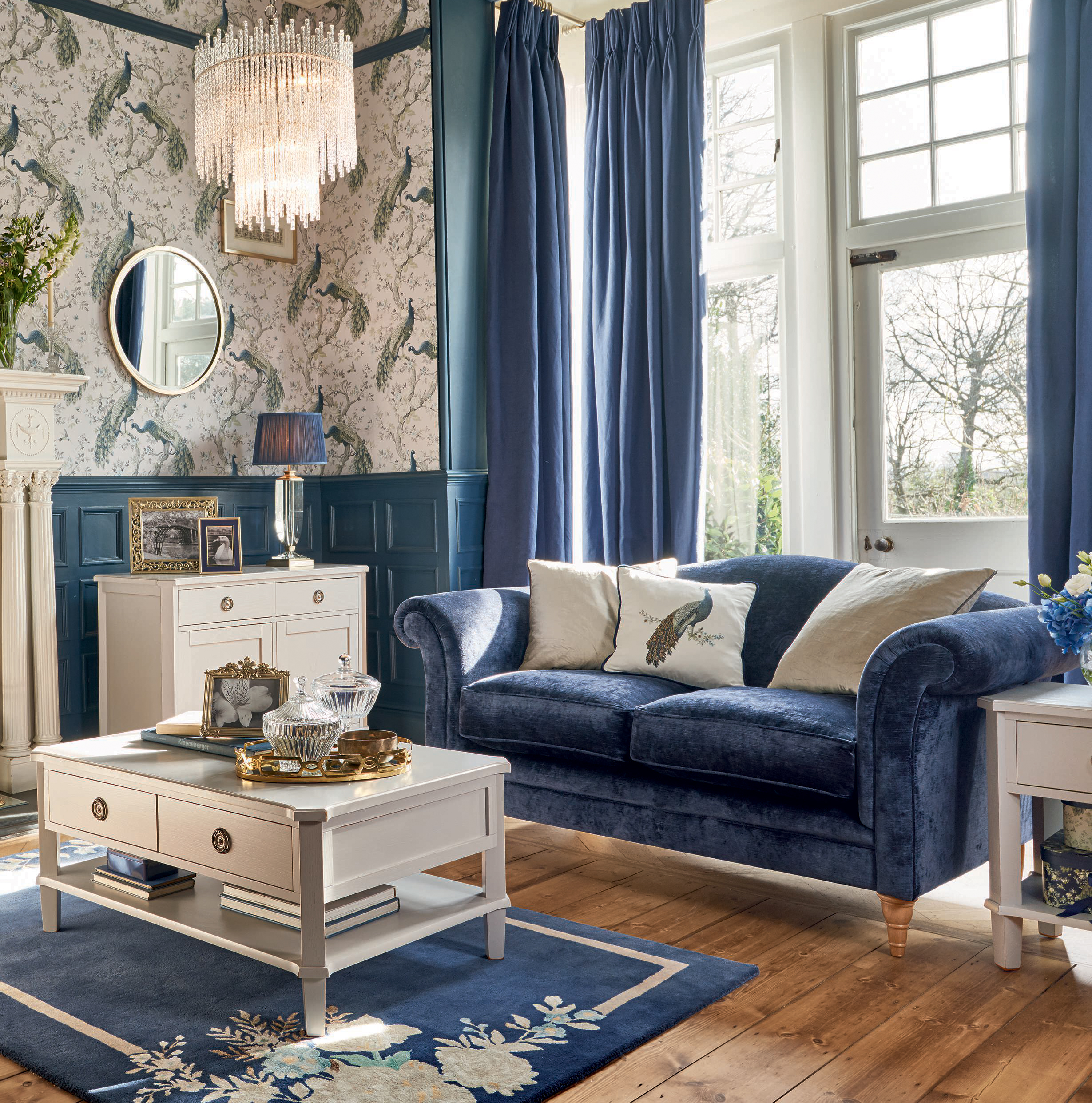 Something Blue, Something Borrowed: How to use midnight blue in the home