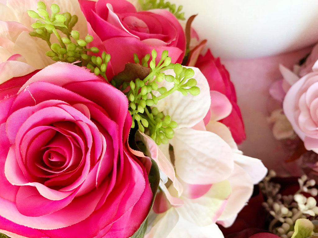 Make-a-Silk-Flower-Wreath-Rose-Close-Up