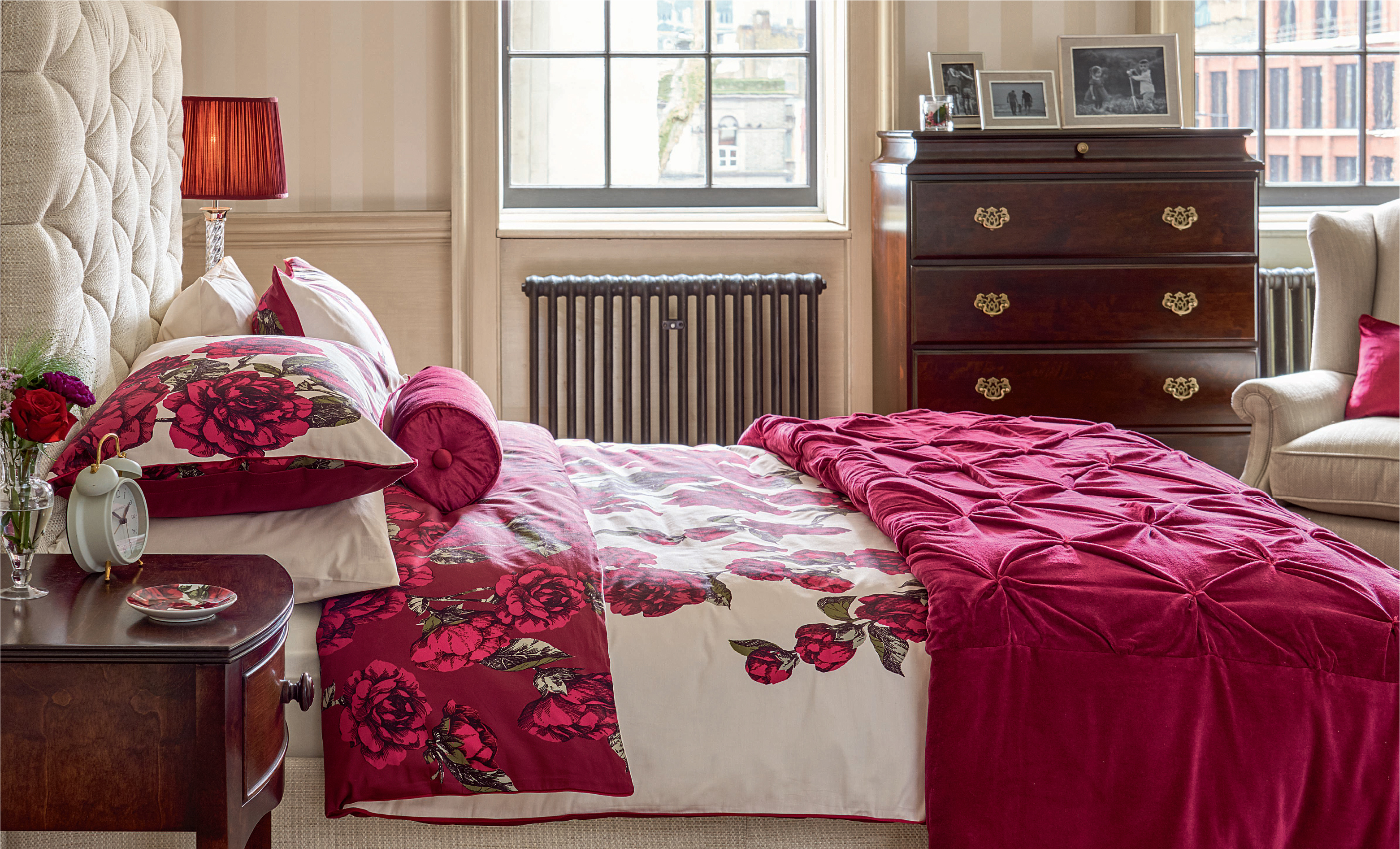 How to use deep red in your interior