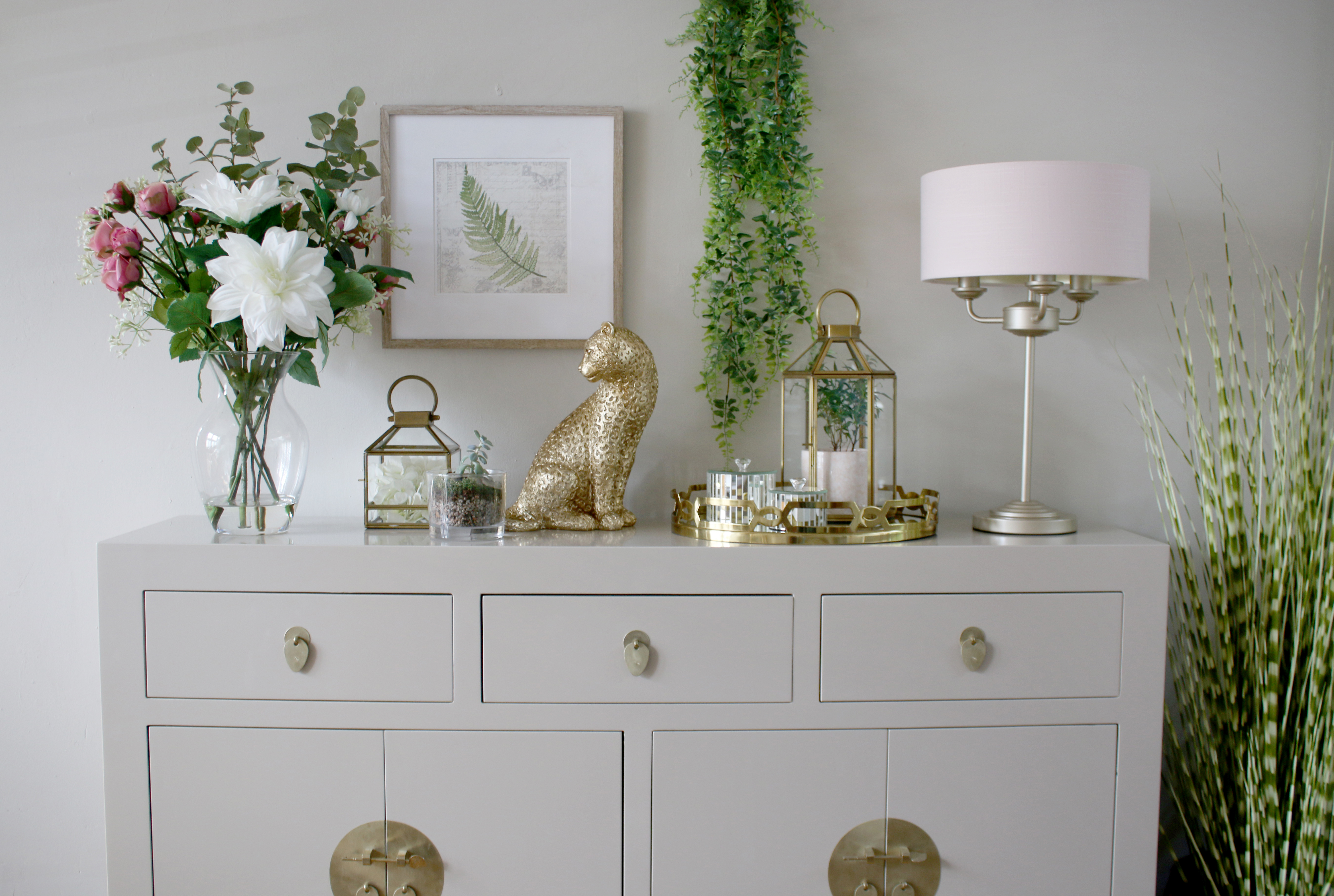 How to Style a Console Table