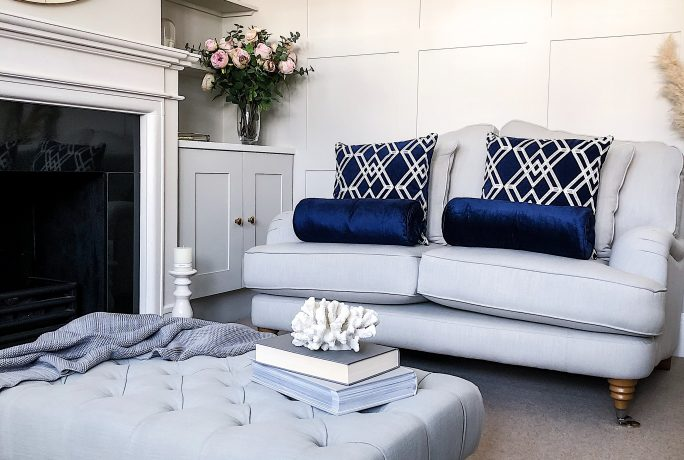 How to use cushions to style a sofa