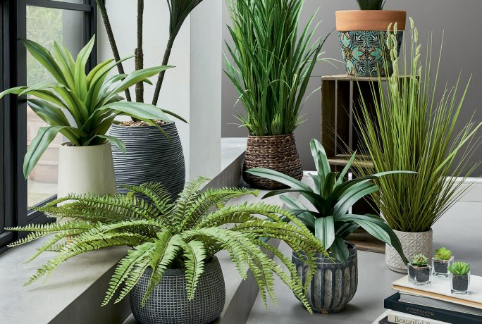 Tips for using faux plants in your interior