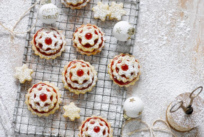 Delicious Mulled Wine Tartlets