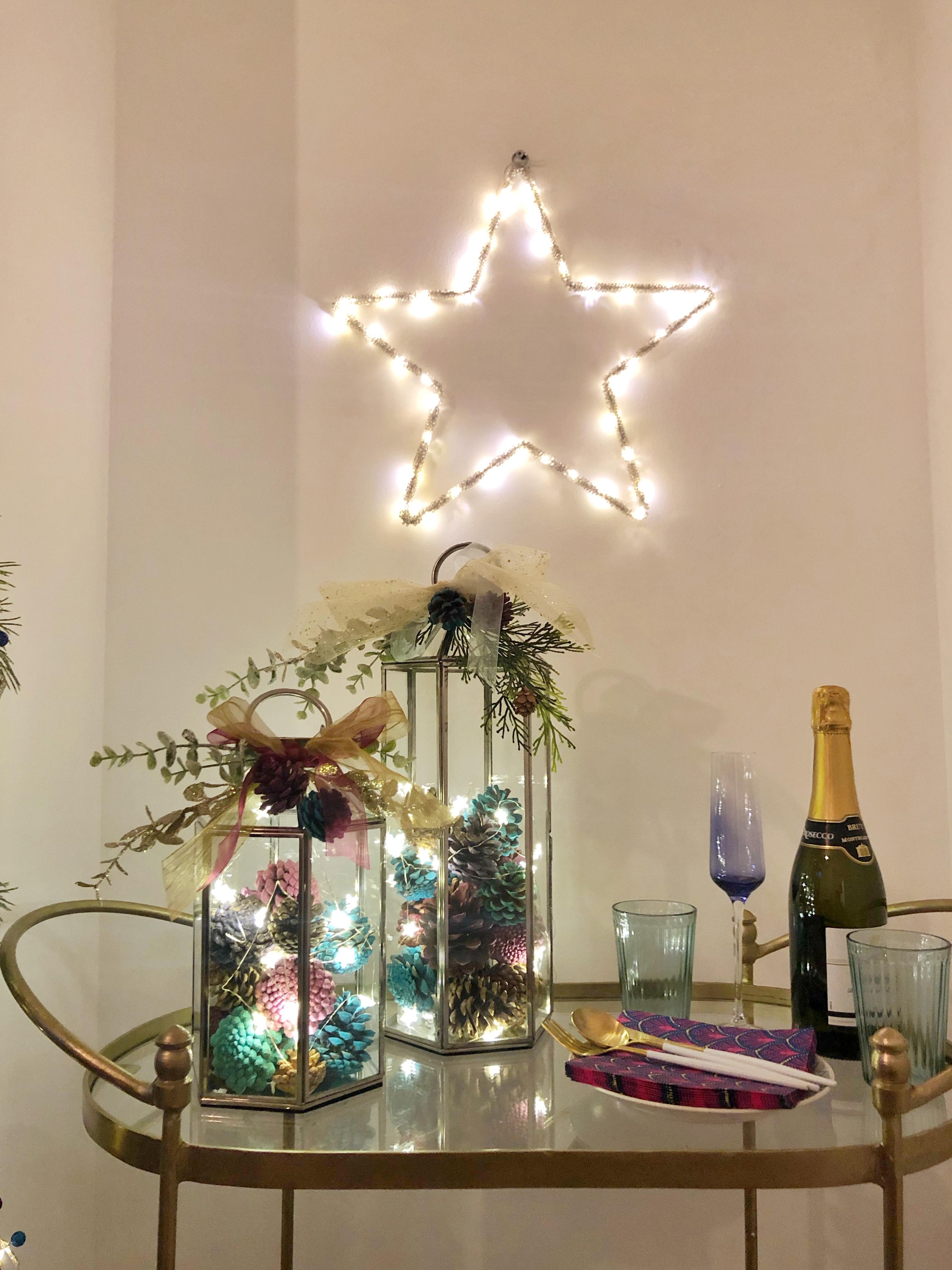 How to make a Christmas Lantern
