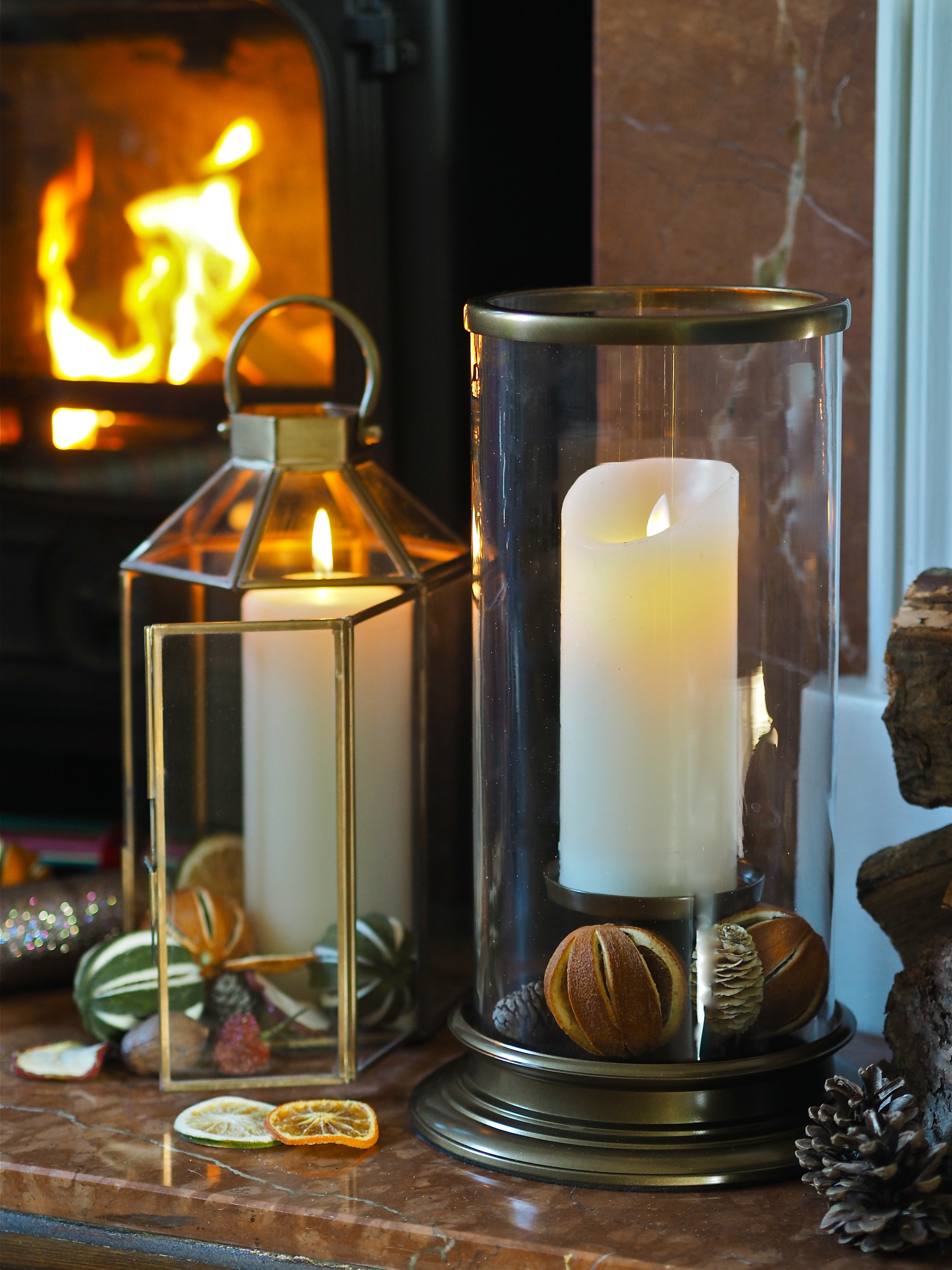How To Style Your Fireplace At Christmas