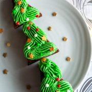 Delicious & Fun Christmas Tree Brownies Recipe