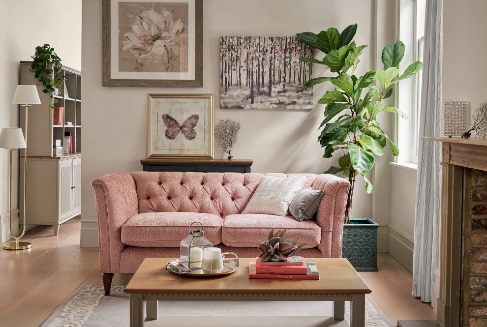 Working with modern pinks in the home