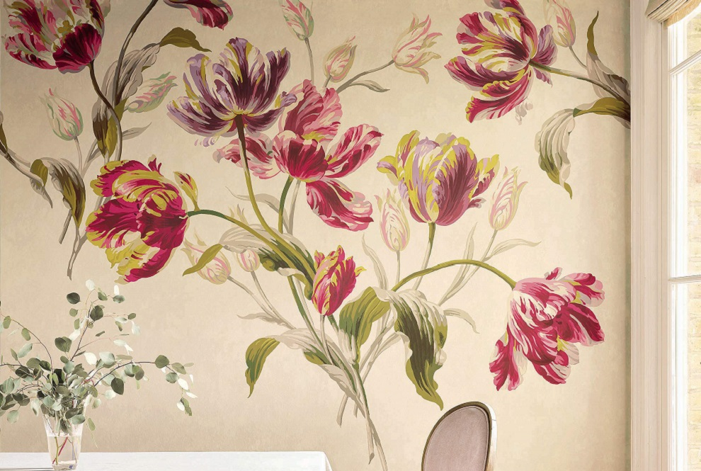 Creating a stunning mural wall